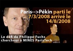 Paris-Pékin: 10 000 km en courant