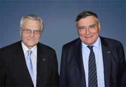 Jean-Claude Trichet, invité d'honneur de MINES ParisTech