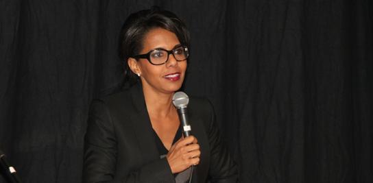 Audrey Pulvar, Marraine de la promotion 2012 du cycle ingénieurs civils