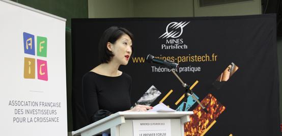 Fleur Pellerin au Forum du Capital Innovation