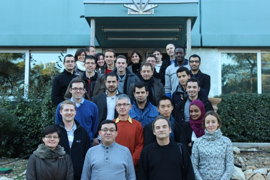 Dix-sept ingénieurs européens en formation sur le rayonnement solaire à Sophia Antipolis (Training in Solar Radiation)