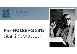 Bruno Latour reçoit le prix Holberg