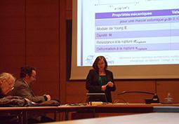Séminaire au Collège de France sur les matériaux architecturés multifonctionnels