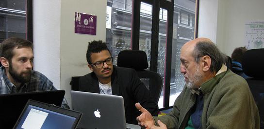 Étude des hackerspaces, barcamps et autres lieux de co-création