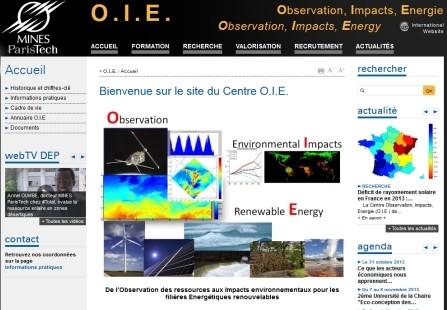 Lancement du site Web O.I.E.