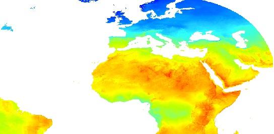 HelioClim pour les Nations du Sud de l'Afrique
