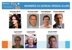Isabelle BLANC nommée membre du Conseil d'Administration du Réseau EcoSD