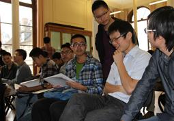 L'école accueille des élèves chinois