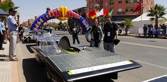 2<sup>e</sup> au Moroccan Solar Challenge !