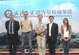Conférences à Wuhan