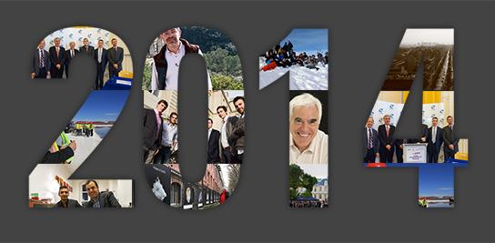 Diaporama : retour en images sur l'année 2014