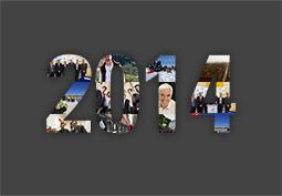 Diaporama : retour en images sur l'ann�e 2014