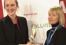 Tatiana Budtova, laur�ate du Prix ADEME des Techniques Innovantes pour l'Environnement