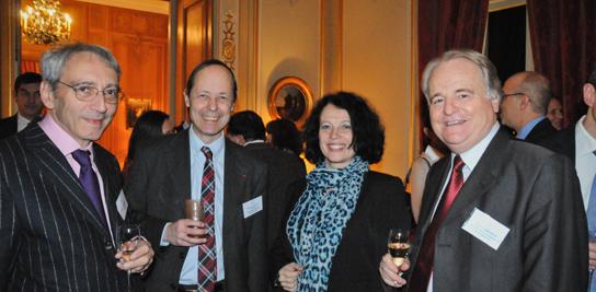 Dîner de gala de la Fondation Mines ParisTech à la Résidence de France à Londres