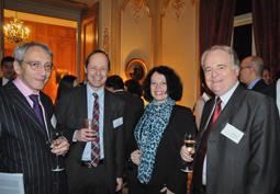 D�ner de gala de la Fondation Mines ParisTech � la R�sidence de France � Londres