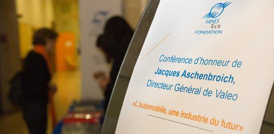 Conférence d'honneur de J.Aschenbroich, Directeur Général de Valeo