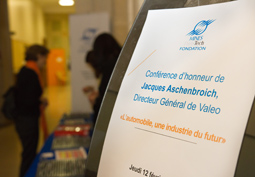 Conf�rence d'honneur de J.Aschenbroich, Directeur G�n�ral de Valeo