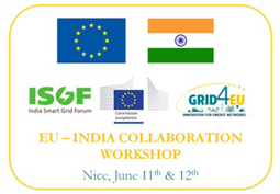 EU-India Smart Grid Collaboration Workshop Hosted by GRID4EU