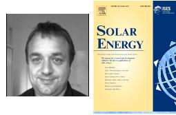 Philippe Blanc  éditeur associé de Solar Energy