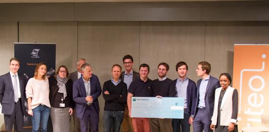 EXPLISEAT, Lauréat du premier Prix Entrepreneuriat MINES ParisTech Criteo 2015