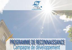 La Fondation Mines ParisTech remercie ses donateurs