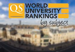 Classement mondial par discipline : MINES ParisTech au top 50 !