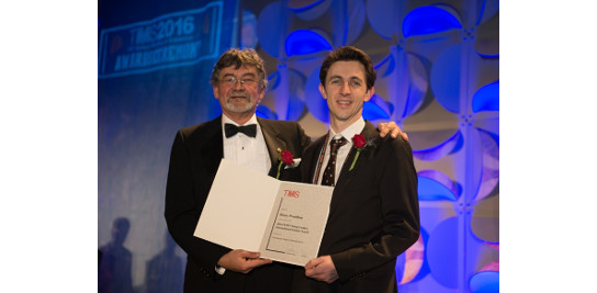 Prix FEM/TMS Young Leader International Scolar décerné à Henry PROUDHON
