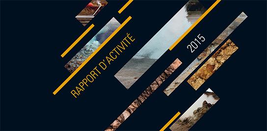 Le Rapport d'activité 2015 est paru