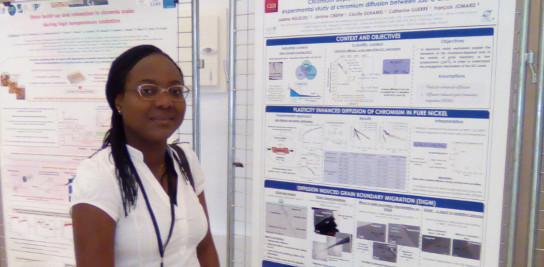 Une doctorante de MINES ParisTech récompensée à la conférence «High-Temperature Corrosion and Protection of Materials»
