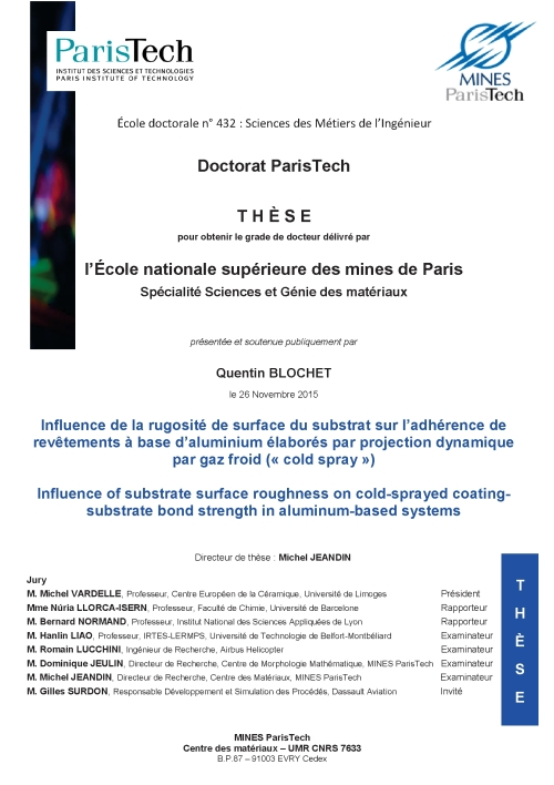 new: Thesis report