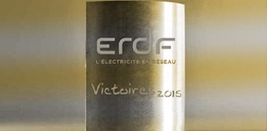 Médaille  d'or aux Victoires 2015 d'ENEDIS pour le projet MOSAIC