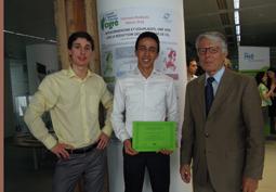 1<sup>ers</sup> au Concours réseaux électriques intelligents