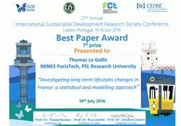 Prix du meilleur article pour Thomas Le Gallic