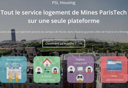 Plateforme de logement en ligne