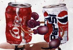 La guerre entre Coca et Pepsi, c'est fini!