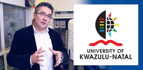 Christophe Coquelet, directeur du CTP, nommé Professeur Honoraire de l'Université de Kwazulu-Natal, PMB Campus.