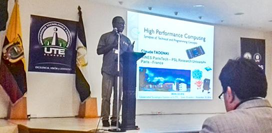 Conférence HPC en Equateur
