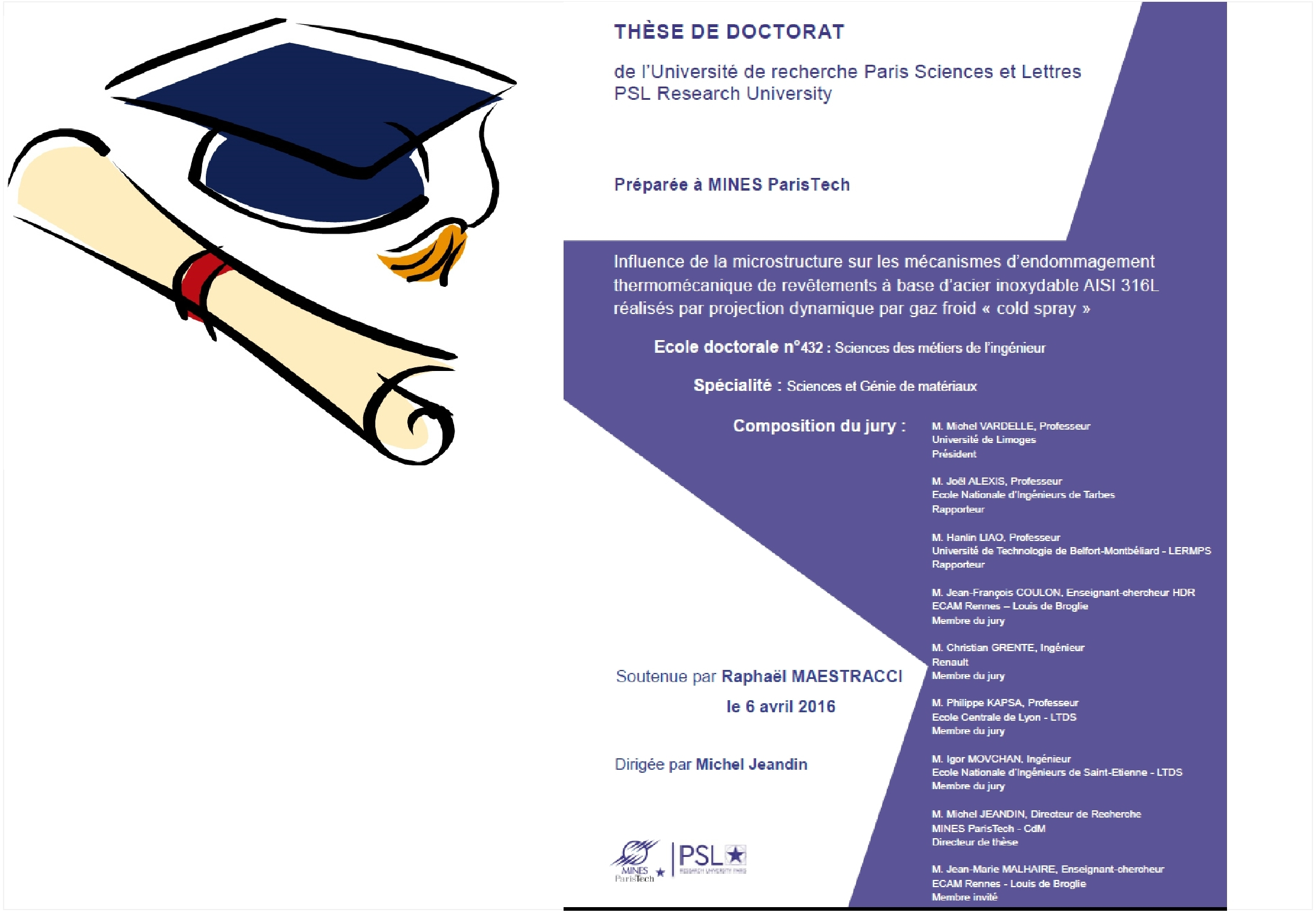 New thesis Report avalaible