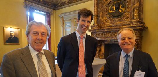 Soirée de la Fondation à la Maison Solvay à Bruxelles le 24 avril 2017