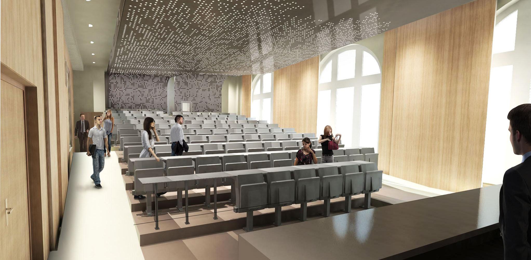 50% des sièges de l'amphithéâtre Schlumberger ont été financés!
