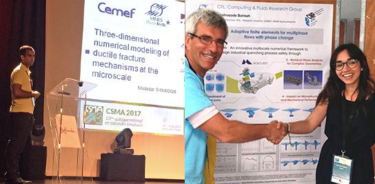 Deux prix CSMA en