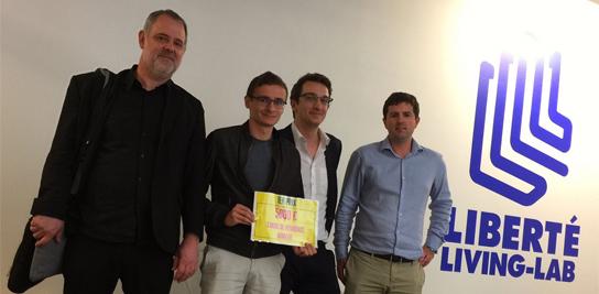 Energissimo 1<sup>er</sup> prix du hackathon #DataÉnergie