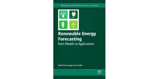 Le premier livre sur la prévision renouvelable et ses applications.