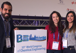 6 communications du CES au 10th World Congress of Chemical Engineering à Barcelone