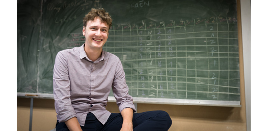 Le doctorant du mois : Romain Dupin, du Centre PERSEE