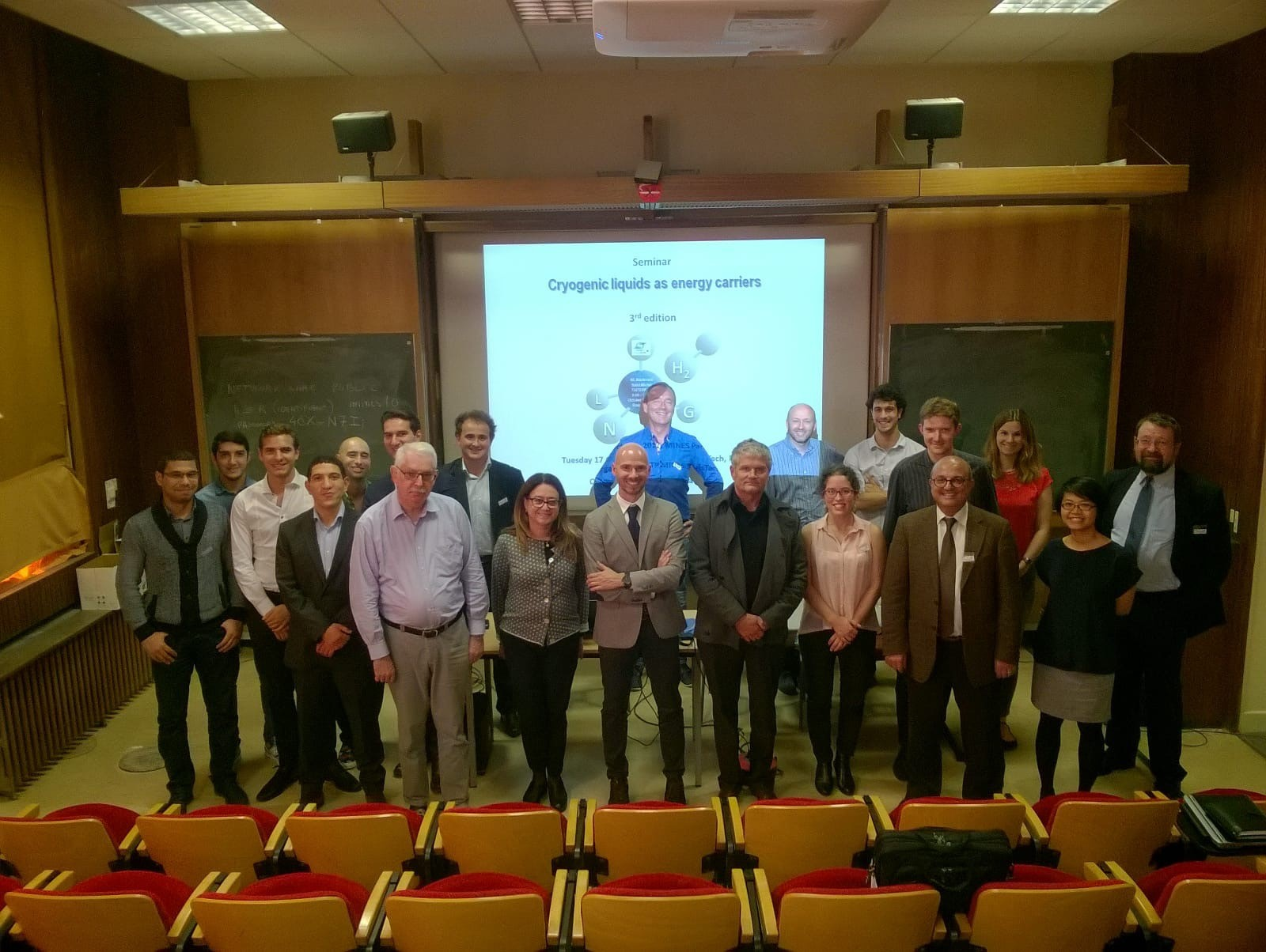 "The 3rd edition of the seminar ""Cryogenic liquids as energy carriers"" organized by CTP"