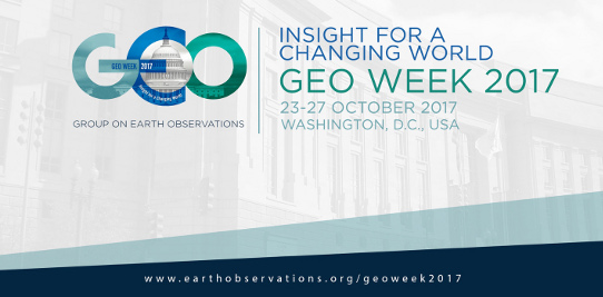 Atelier de travail sur l'initiative GEO-VENER (Vision for Energy) à la GEO Week 2017 à Washington DC