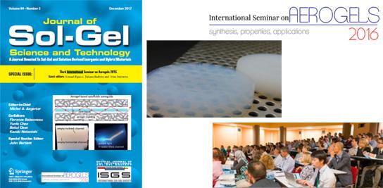 Special Issue destiné aux matériaux de type aérogels