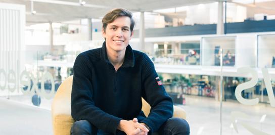 Rencontre avec Robin Liétar (P13), diplômé de MINES ParisTech et fondateur de la start-up Vegg'up