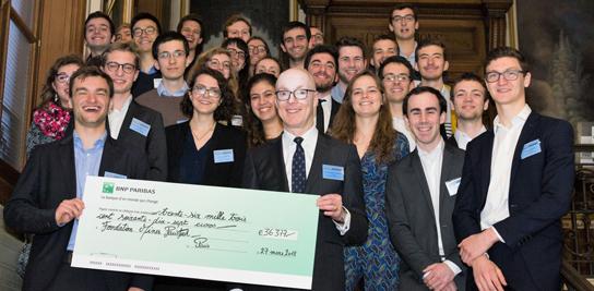 Soirée de remerciement des donateurs de la Fondation et de remise du ClassGift P16
